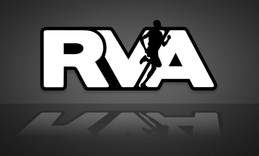 RVA Male Runner Sticker | RichmondStickers.com