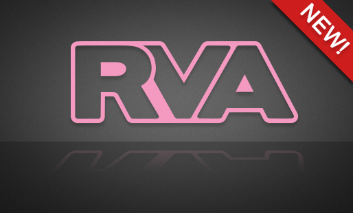 RVA Pink Outline - FREE SHIPPING