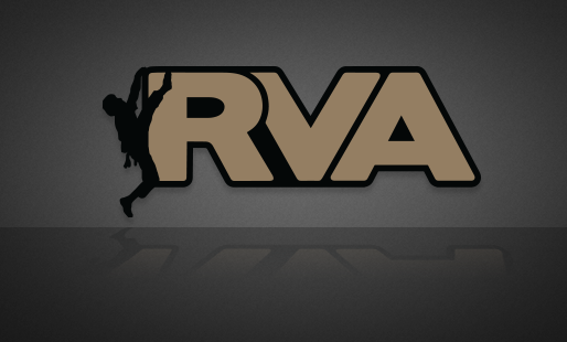 Rock Climber RVA Sticker - RichmondStickers.com