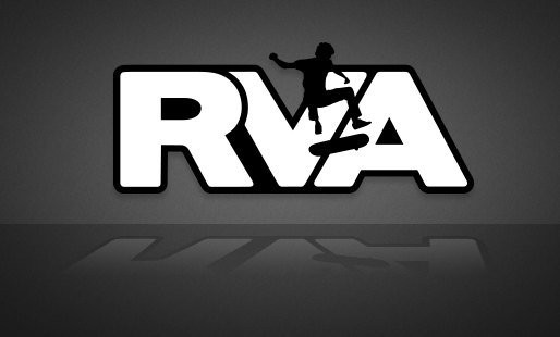 RVA Skater Sticker - FREE SHIPPING