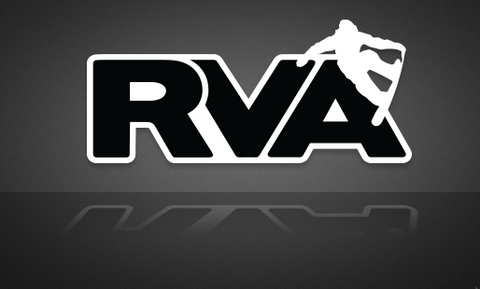 RVA Snow Boarder Sticker - FREE SHIPPING