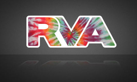 Tie Dye RVA Sticker | RichmondStickers.com