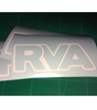 RVA White Outline - FREE SHIPPING