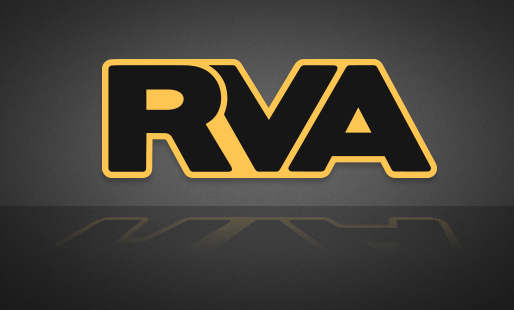 RVA Yellow/Black Sticker - FREE SHIPPING