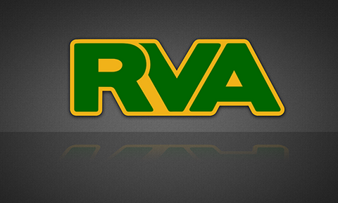 RVA Yellow/Green Sticker - FREE SHIPPING