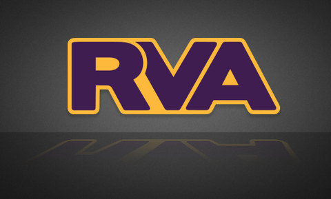 RVA Yellow/Purple Sticker - FREE SHIPPING