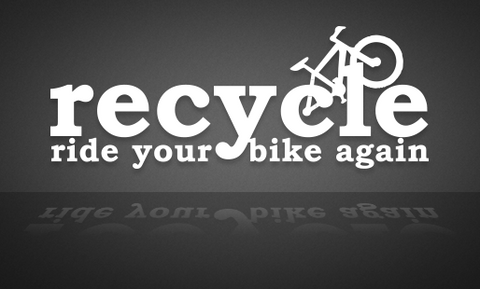 Recycle Ride Your Bike Again