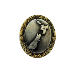 Mia New Zealand Cameo Brooch - NZ-Designer-Jewellery, Tania Tupu - Tania-Tupu