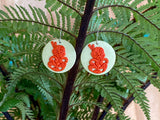 Tiki Oasis Good-luck Charm Earrings