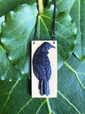 Tui on a Swing Pendant