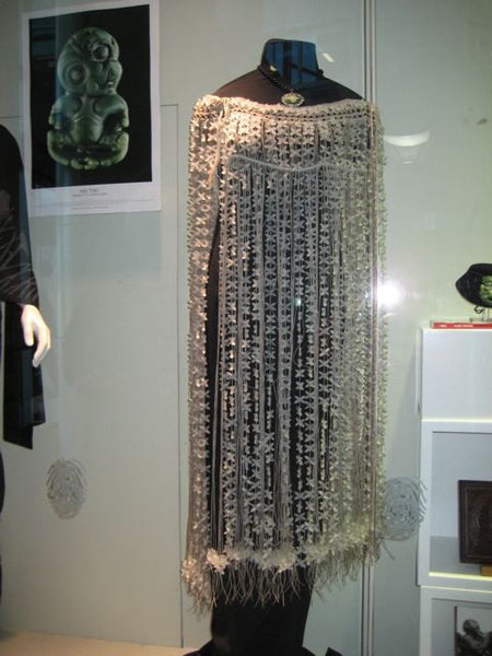 Beaded Underworld Cloak - NZ-Designer-Jewellery, Tania Tupu - Tania-Tupu