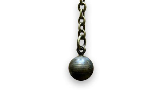 Personal Wrecking Ball Necklace - Moon Raven Designs