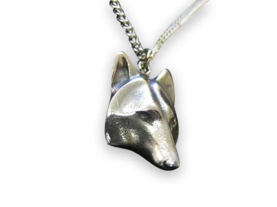 Wolf Face Necklace - Moon Raven Designs