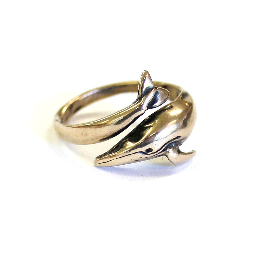 Humpback Whale Ring - Moon Raven Designs