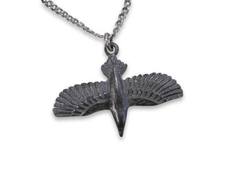 3D Soaring Raven Necklace - Moon Raven Designs