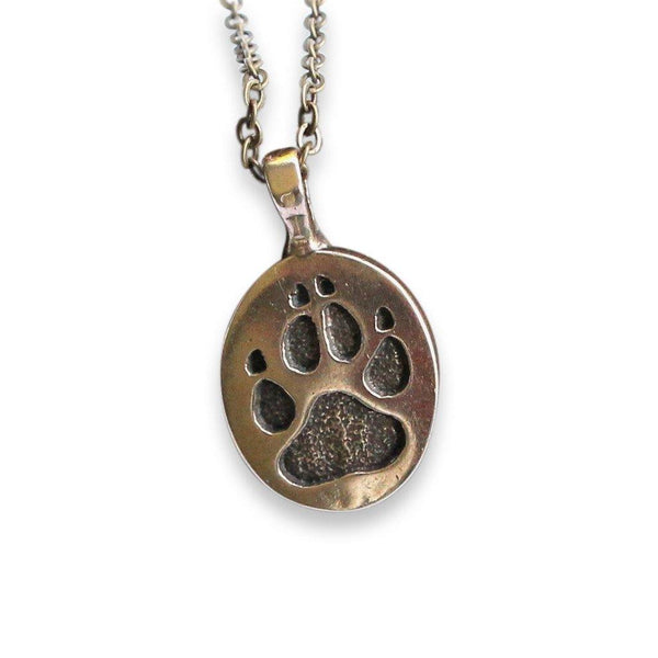 Wolf Track Pendant Necklace - Moon Raven Designs