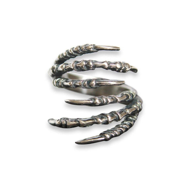 Double Raven Claw Talon Ring - Moon Raven Designs