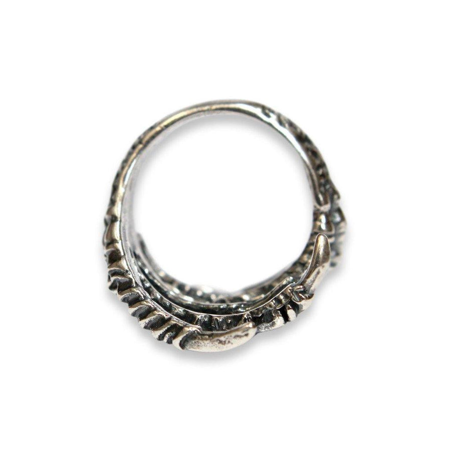 Double Raven Claw Ring - Moon Raven Designs