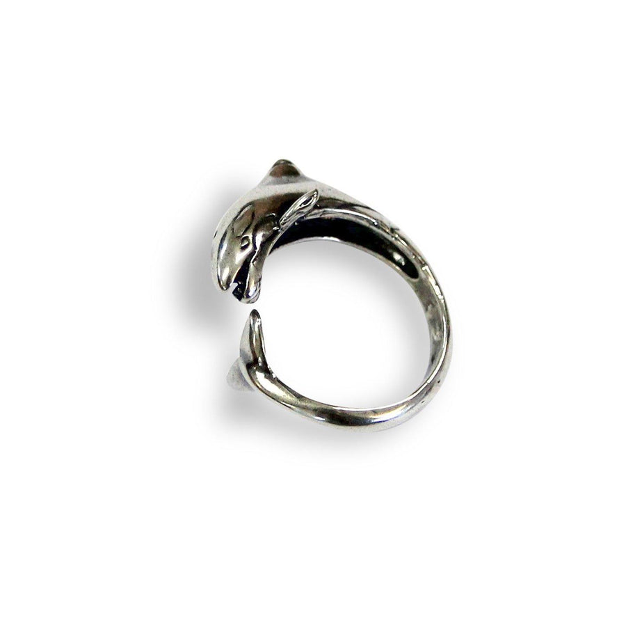 Orca Ring Silver Killer Whale - Moon Raven Designs