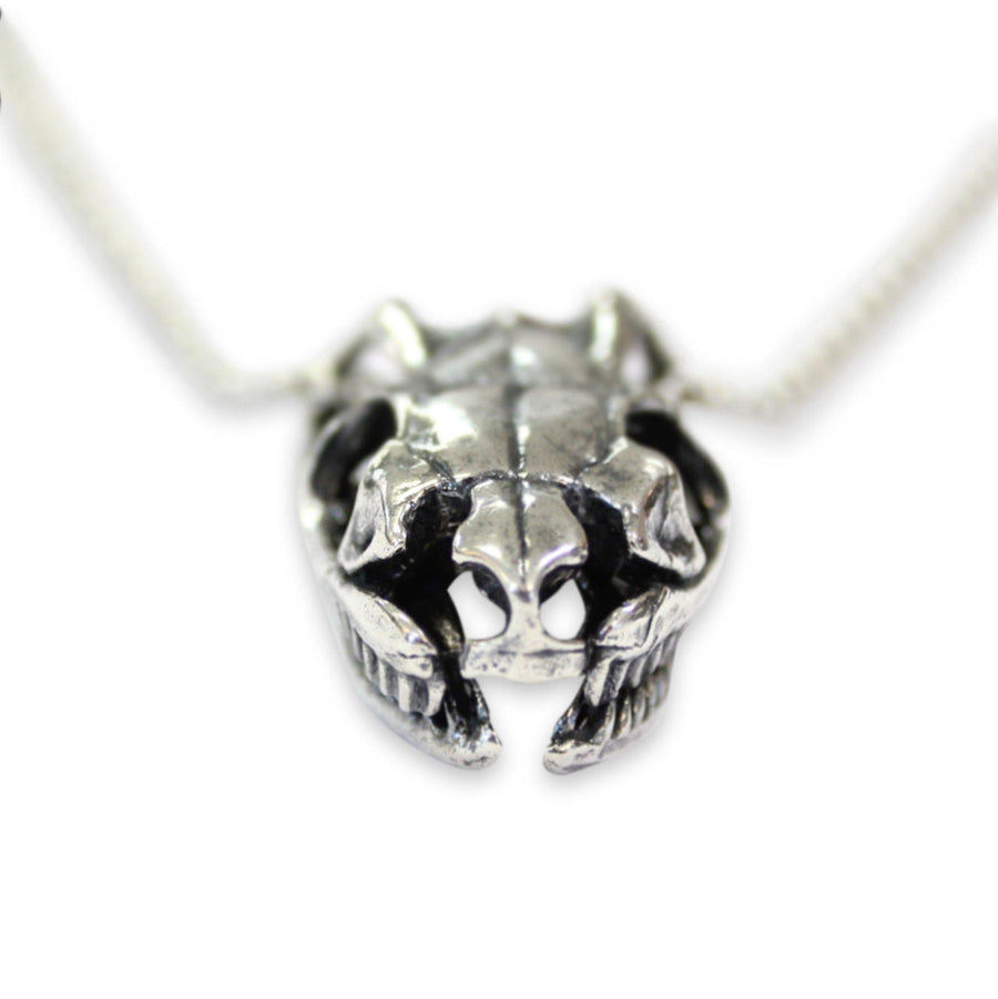 Python Skull Pendant Necklace - Moon Raven Designs