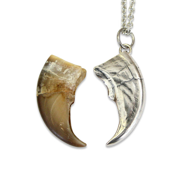 Bear Claw Pendant Necklace