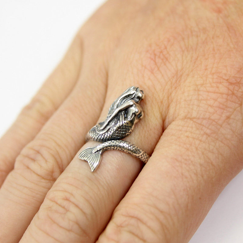 Mermaid Ring - Moon Raven Designs