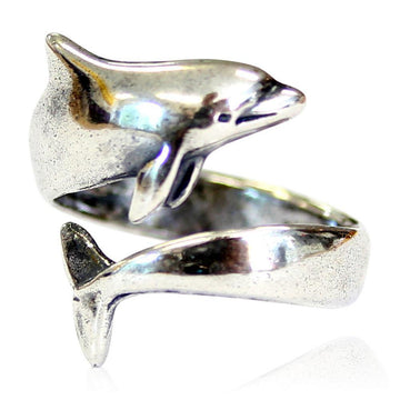 Dolphin Ring - Moon Raven Designs