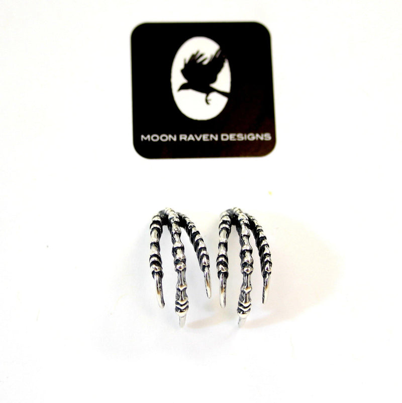 Raven Claw Stud Earrings - Moon Raven Designs