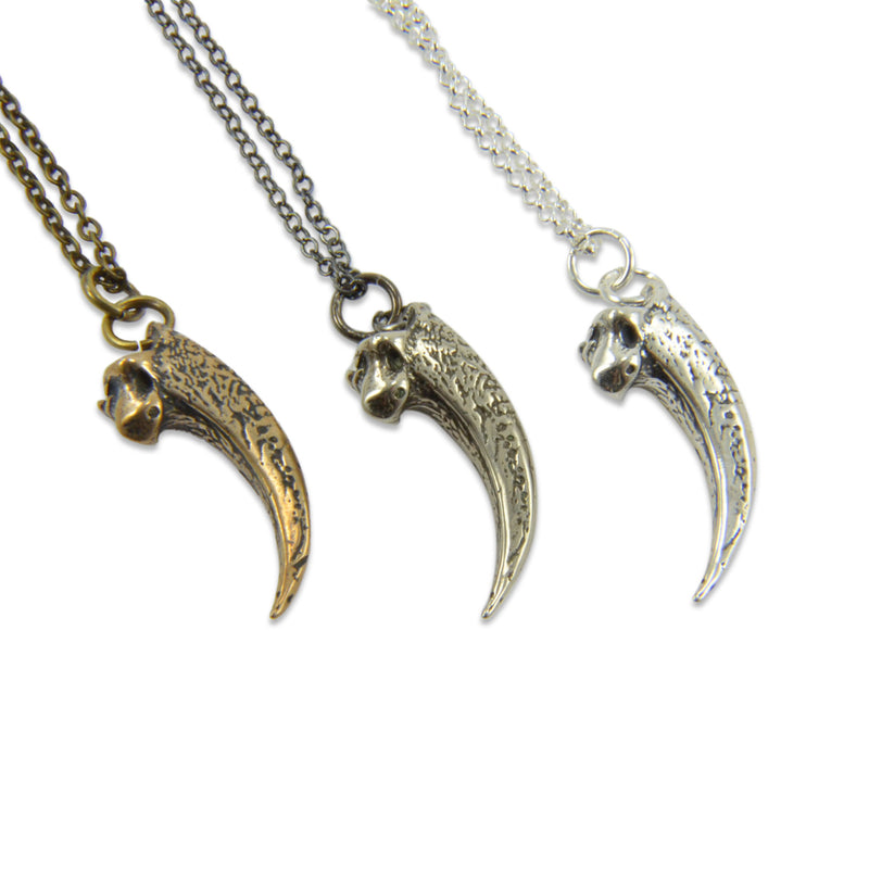Owl Talon Necklace - Moon Raven Designs