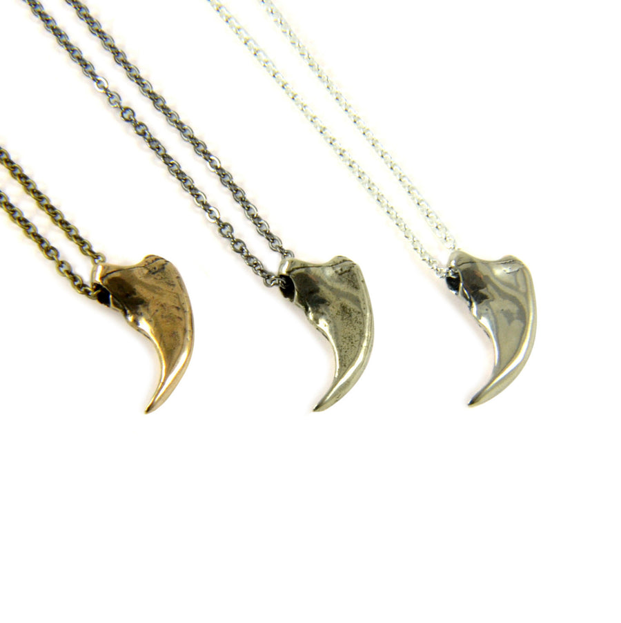 Little Bear Claw Necklace - Moon Raven Designs