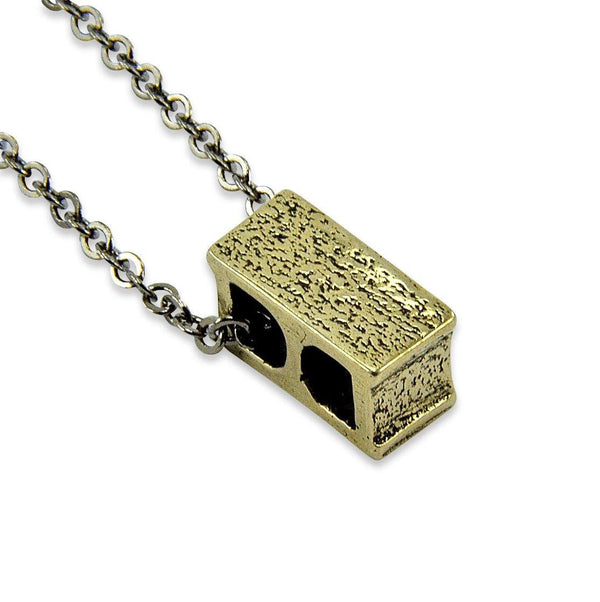 Cinder Block Necklace - Moon Raven Designs
