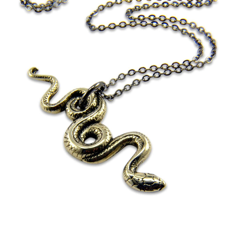 Garden Snake Necklace - Moon Raven Designs