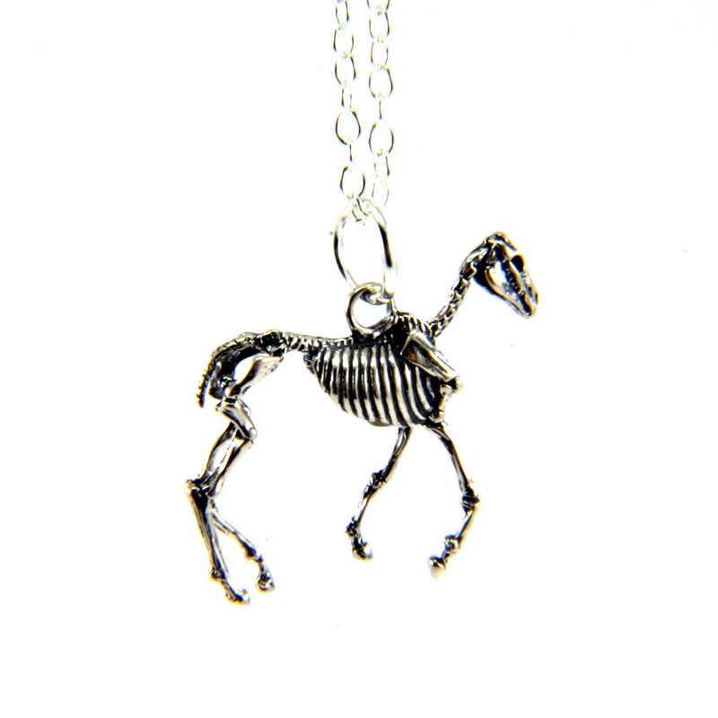 Horse Skeleton Necklace - Moon Raven Designs