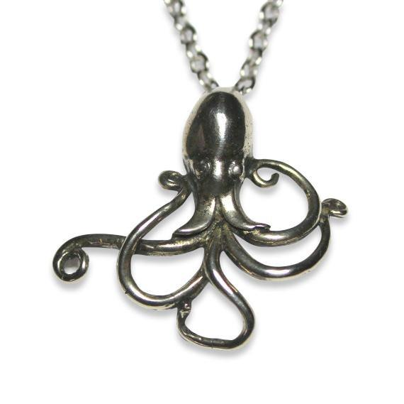 Dancing Octopus Necklace 211 - Moon Raven Designs