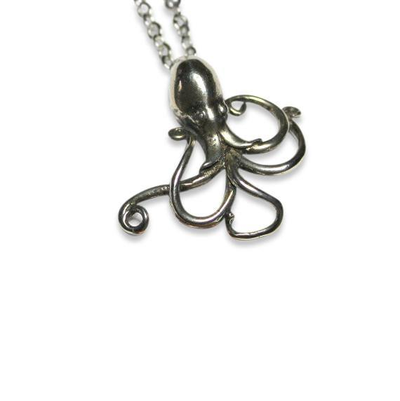 Dancing Octopus Necklace - Moon Raven Designs