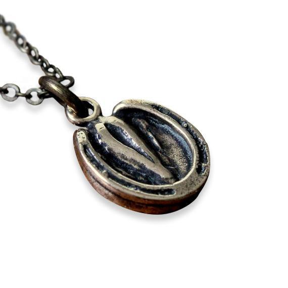 Horse Hoof Necklace - Moon Raven Designs