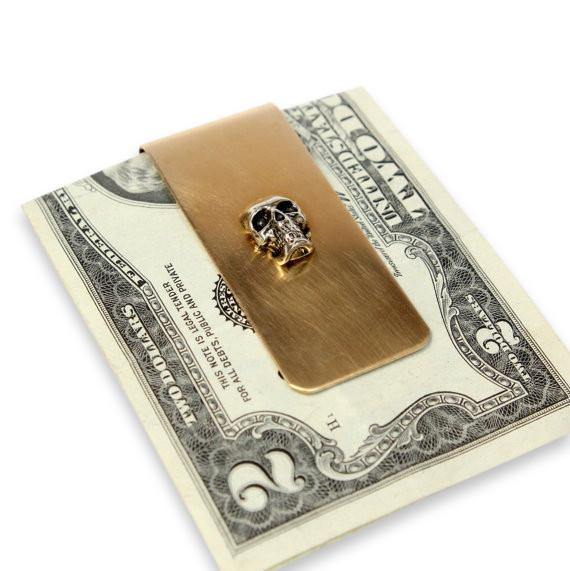 Skull Money Clip - Moon Raven Designs