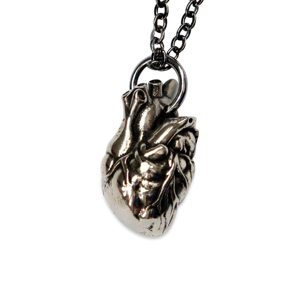 Anatomical Heart Pendant - Moon Raven Designs