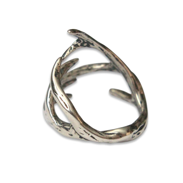 Deer Antler Adjustable Ring