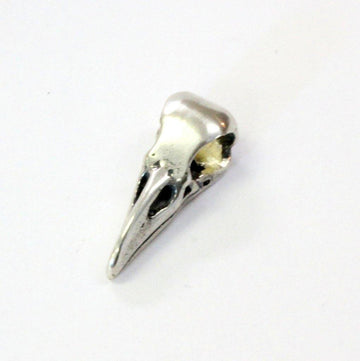 Little Raven Skull Charm - Moon Raven Designs