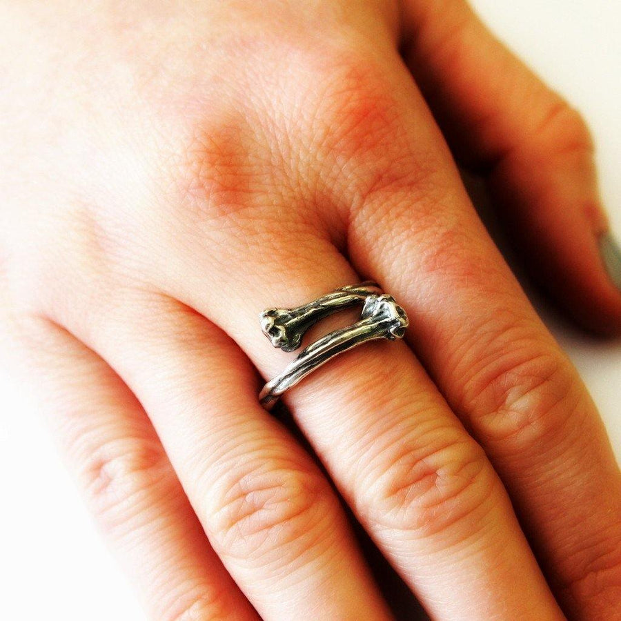 Bone Ring - Moon Raven Designs
