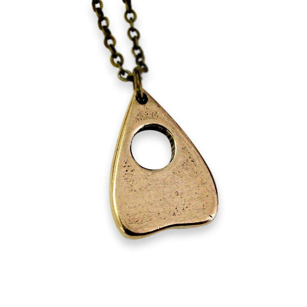 Mystic Oracle Ouija Planchette Pendant Necklace - Moon Raven Designs