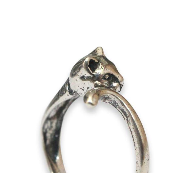Kitty Cat Ring - Moon Raven Designs