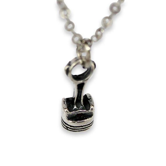 Piston and Rod Pendant Necklace - Moon Raven Designs