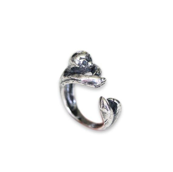 Sloth Ring - Moon Raven Designs