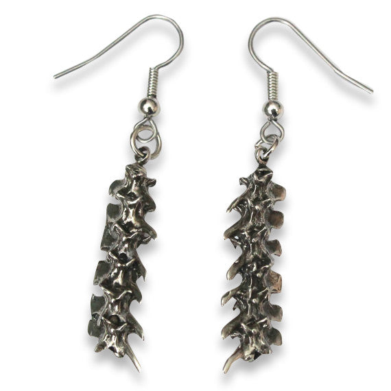 Snake Vertebrae Earrings - Moon Raven Designs