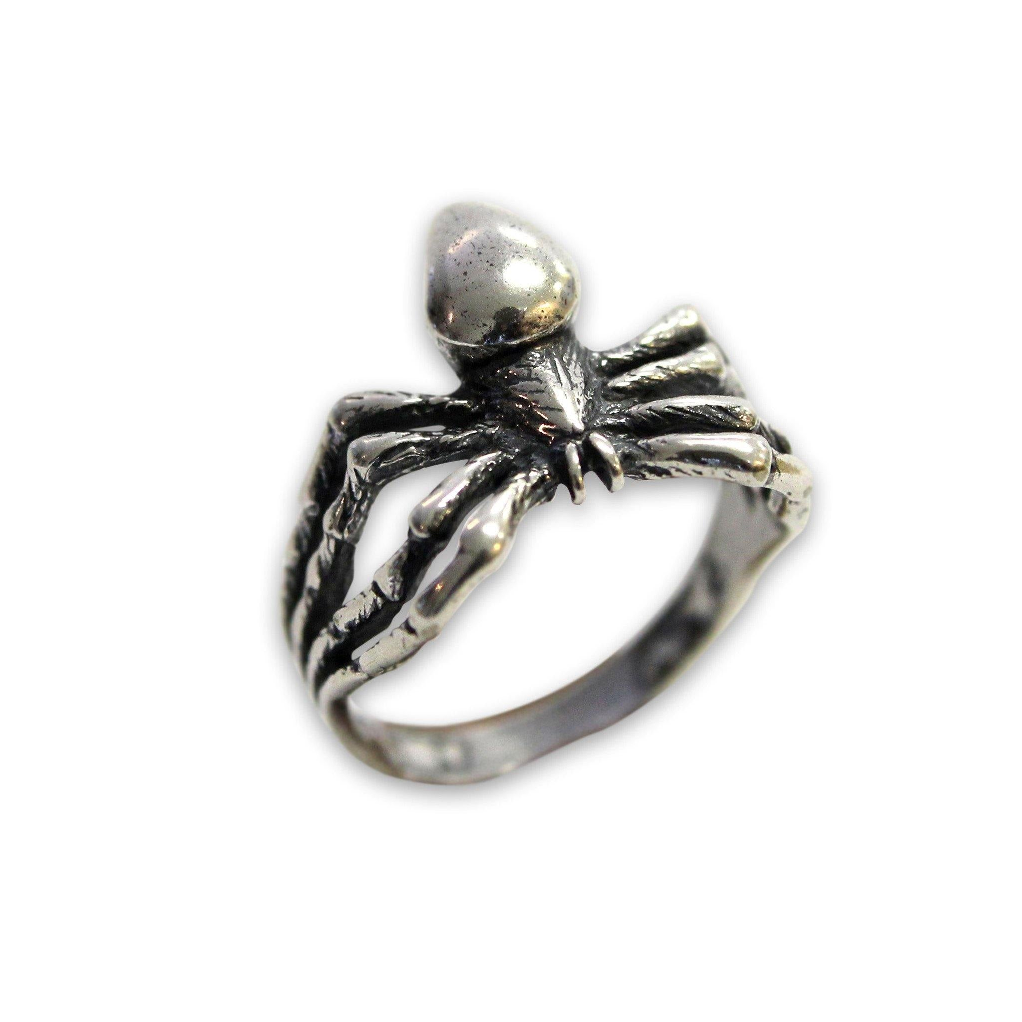 Spider Ring - Moon Raven Designs