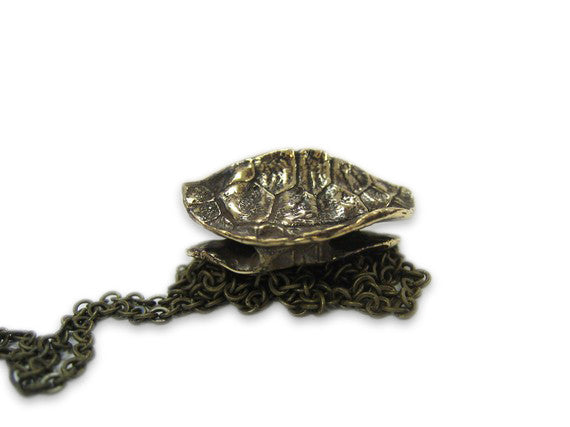 Turtle Shell Pendant Necklace