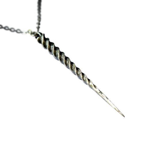 Unicorn Horn Pendant Necklace