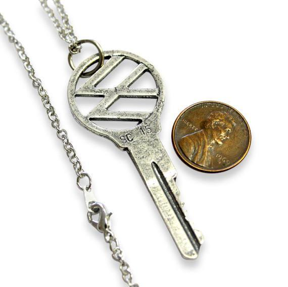 Volkswagen Key Pendant Necklace - Moon Raven Designs